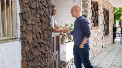 Vidal se nacionaliza y Larreta cruza la General Paz para apuntalar a Macri