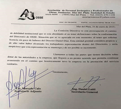 No descartan que Arroyo imponga a Giri por decreto en OSSE