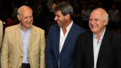 Lavagna, Uñac y Lifschitz dieron señales de unidad en la Fiesta del Sol en San Juan