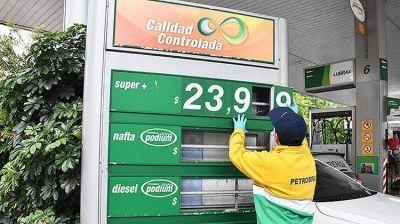 La oposición propone congelar el precio de los combustibles al 1º de enero