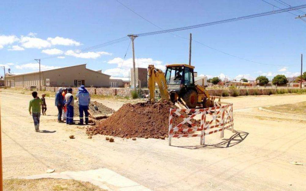 Iniciaron la ampliación de la red cloacal en Abra Pampa
