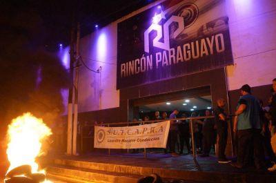 SUTCAPRA logró retrotraer despidos en el boliche Rincón Paraguayo