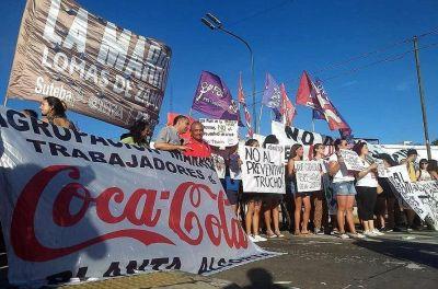 """Coca Cola: """"Los trabajadores no vamos a permitir los despidos pactados entre el sindicato y la empresa"""