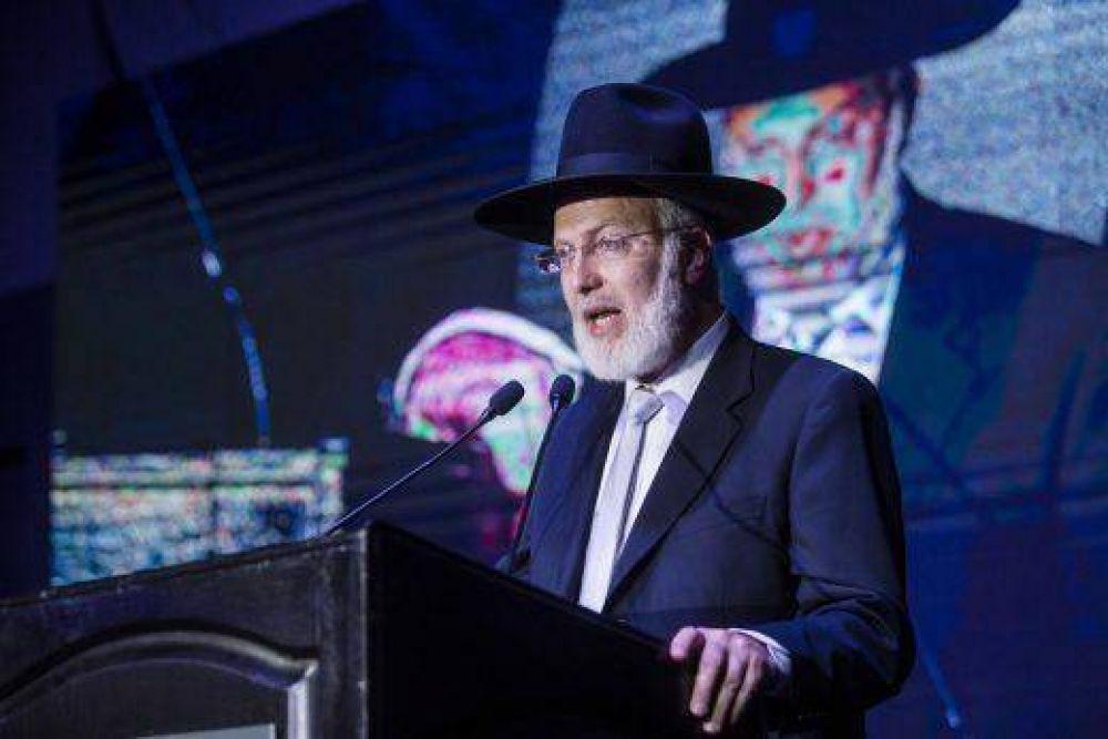 El Gran Rabino de la AMIA se encuentra en estado delicado luego del brutal ataque antisemita