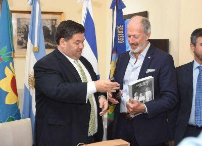 Nedela recibió al presidente de la DAIA