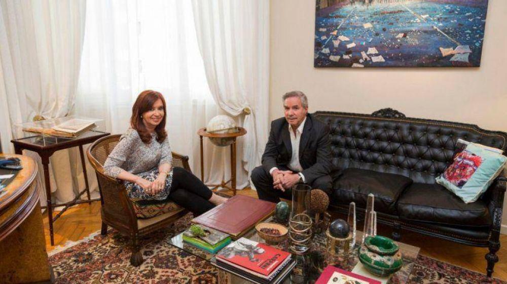 Por primera vez en 12 años, Cristina Kirchner y Felipe Solá se mostraron juntos