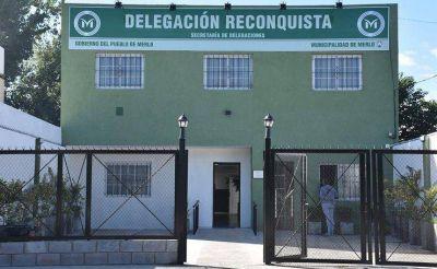 Merlo | Reinauguraron delegación en el barrio Reconquista