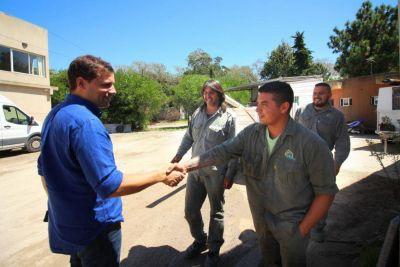 El intendente de La Costa decidió ampliar los servicios cloacales de Las Toninas y además se asfaltará la Diagonal B