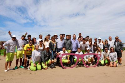 Más de 355 mil personas disfrutaron las playas públicas en Necochea y Mar de Ajó