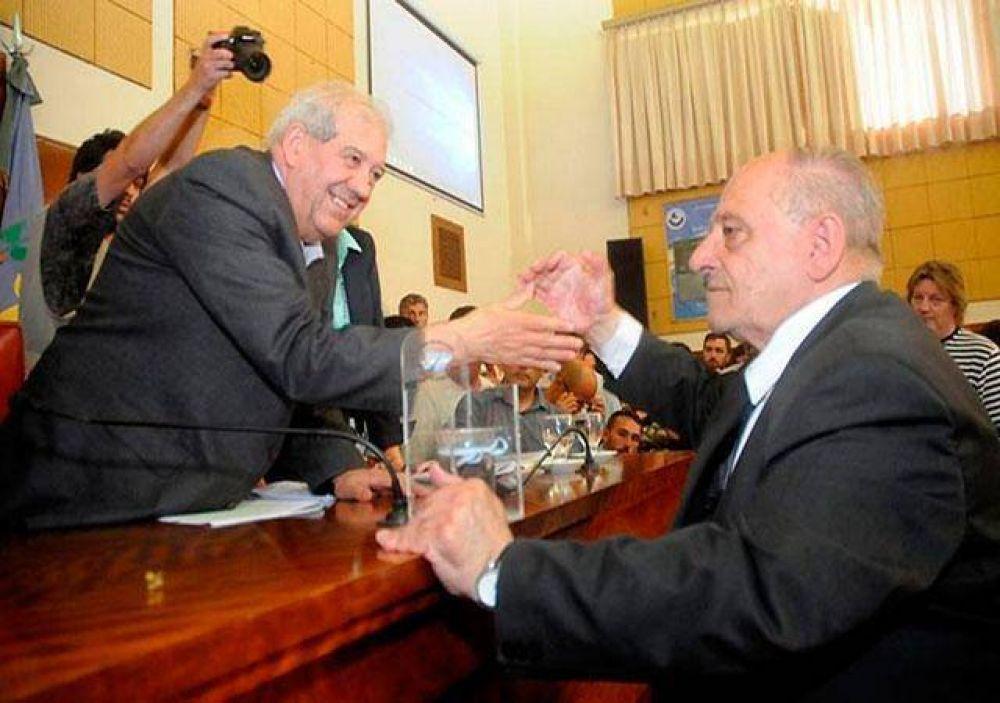 Sáenz Saralegui acordó su continuidad en la presidencia del Concejo Deliberante