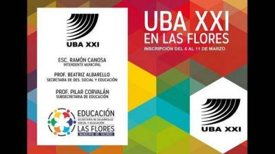 Programa UBA XXI en Las Flores