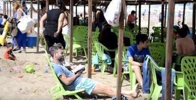 Cerró el balneario gratuito de Necochea: Trabajó durante 50 días y pasaron unas 275 mil personas
