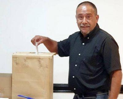 Daniel Díaz fue reelecto por tercer período consecutivo al frente de SITOS en Obras Sanitarias