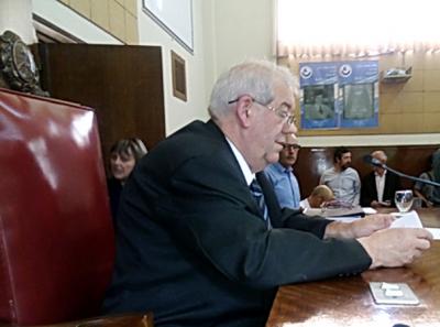 Guillermo Saenz Saralegui continuará al frente de la presidencia del Concejo Deliberante