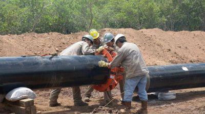 Avanzan obras de gasoductos en Vaca Muerta