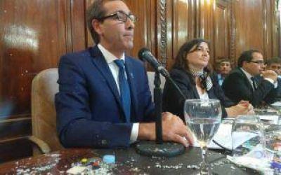 Garro destacó las obras hidráulicas que hizo el municipio en la apertura de sesiones ordinarias de La Plata