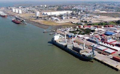 Crecen las exportaciones agroindustriales desde el puerto bonaerense de Bahía Blanca