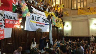 """Garro inauguró el año legislativo y lanzó su reelección: """"No hay marcha atrás"""", dijo"""