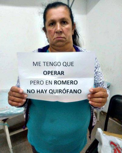 Finalmente cerraron los quirófanos del Hospital de Melchor Romero por falta de presupuesto