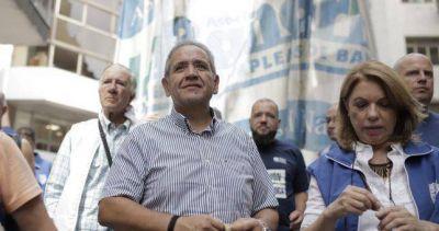 Bancarios marcharon a la apertura de sesiones para pedirle a Macri que proteja el trabajo argentino