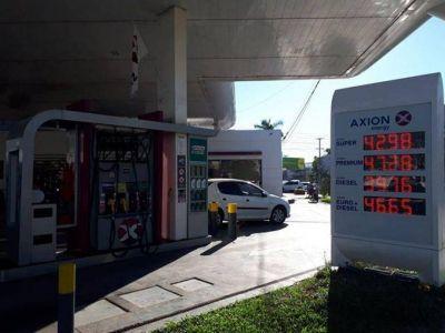 YPF y Axion incrementaron el valor de sus combustibles; hay malestar