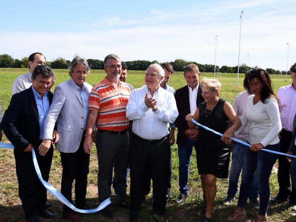 """Con obras hídricas, """"La Cañada"""" quedó a salvo del agua"""