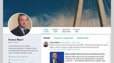 Seis frases de Franco Macri sobre política y kirchnerismo