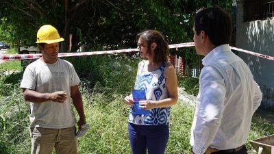 Iniciaron nueva obras cloacales en Villa Fiorito