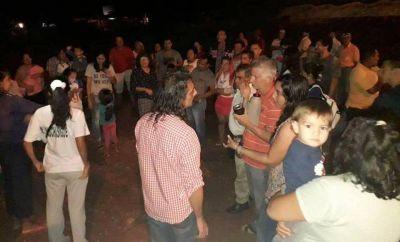 Unas 600 familias del barrio San Lorenzo denuncian obras inconclusas de agua, luz y cloacas