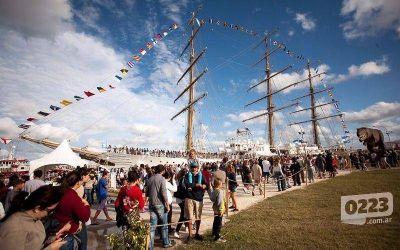 Más de 9 mil personas ya visitaron la Fragata Libertad
