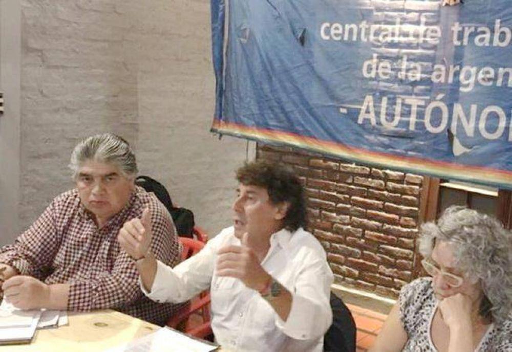 La CTA Autónoma convocó a un paro nacional de mujeres para el próximo 8 de marzo