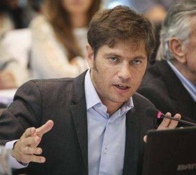 Mientras padece Mariu la imagen de Macri en la Provincia, ratifica Kicillof el proyecto de CFK