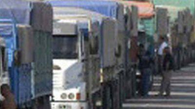 Restringen circulación de camiones para mañana