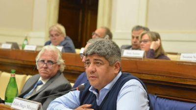 """Moyano en el Vaticano: """"Se olvidan de los trabajadores"""""""