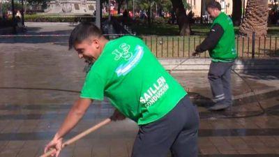 Residuos en Córdoba: trabajo a reglamento en barrido y predio de enterramiento