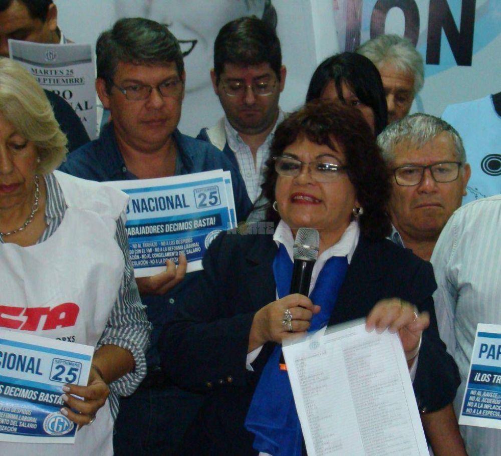 Las 62 Organizaciones quiere que Aranda forme parte de la lista para el Senado