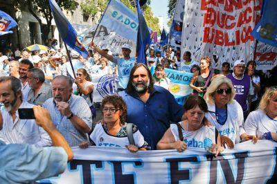 La primera jornada de huelga docente tuvo una adhesión dispar