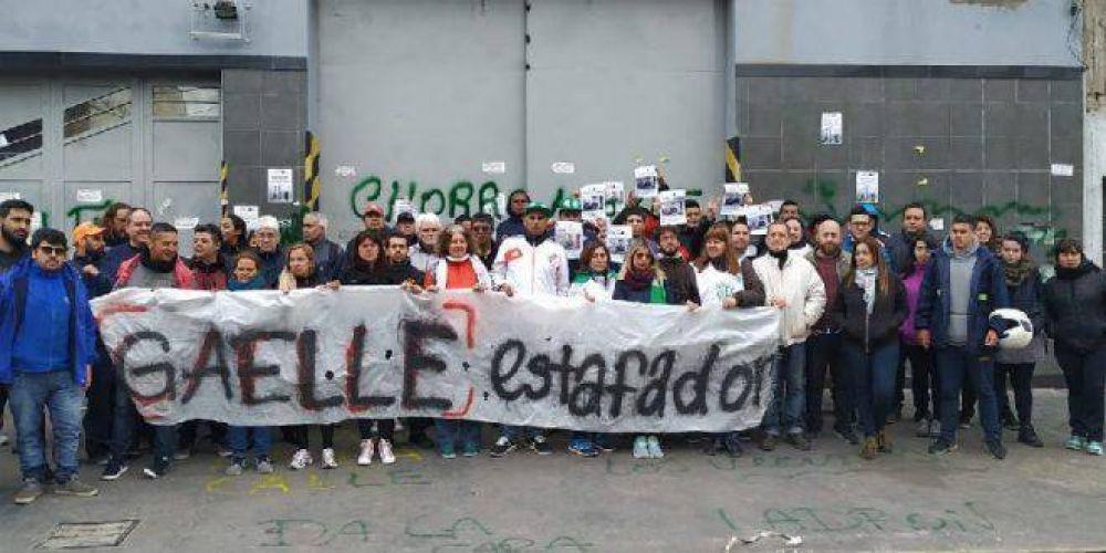 Trabajadores despedidos de Gaelle advierten con medidas de fuerza ante el incumplimiento de la empresa