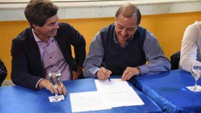 El ENOHSA firmó convenio para mejorar los servicios públicos