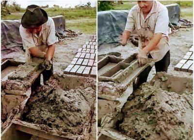 Santa Fe: la UOLRA hizo entrega de una prótesis para un histórico ladrillero de Avellaneda