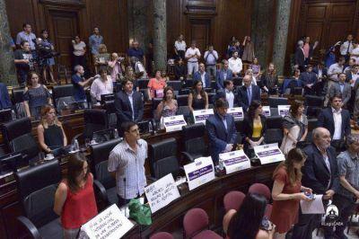 Legislatura: demandan paridad de género en el Superior Tribunal de Justicia