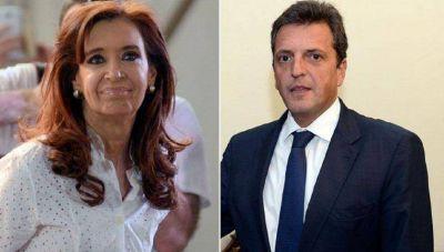 Cristina y Massa evitan cualquier negociación antes de junio