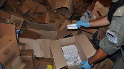 Incautan medicamentos de una vivienda camuflados con golosinas