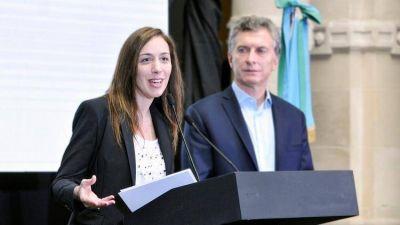 Vidal por Macri: el plan B que, día a día, crece dentro de Cambiemos