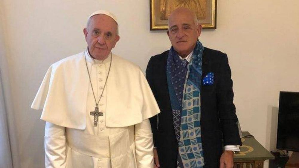 El Papa y una visita desde una Universidad del Conurbano