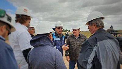 Avanza la obra del gasoducto en Mar del Plata e inicia su etapa final