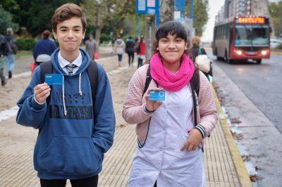 Prorrogan pases estudiantiles para alumnos de nivel secundario, hasta el 30 de abril