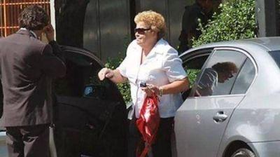 La madre del sindicalista Marcelo Balcedo quedó detenida en su casa