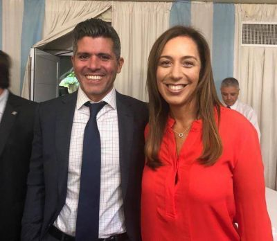 Dominguez Yelpo, junto a Vidal y Macri