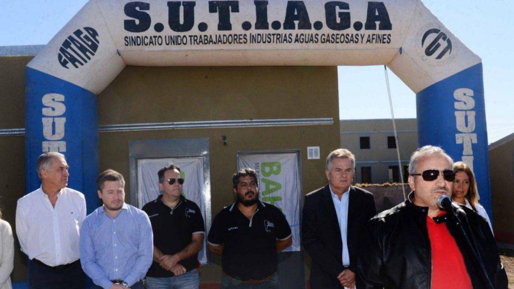 Sutiaga entregó otras 24 viviendas y ya suma 226 en el predio sindical